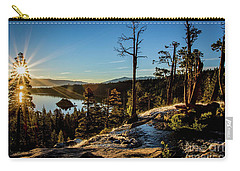 Carry-all Pouch featuring the photograph Eagle Falls Sunrise by Mitch Shindelbower