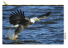 Eagle Fish Grab Carry-all Pouch by Coby Cooper