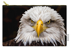 Defiant And Resolute - Bald Eagle Carry-all Pouch