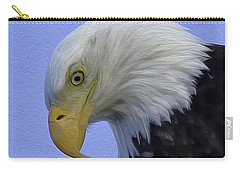 Eagle Head Paint Carry-all Pouch