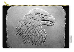 Eagle Head Relief Drawing Carry-all Pouch