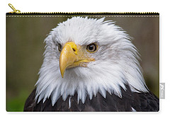 Eagle In Ketchikan Alaska Carry-all Pouch