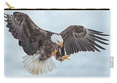 Eagle In The Clouds Carry-all Pouch by CR Courson
