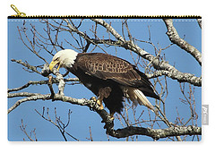 Eagle Nest Building Carry-all Pouch