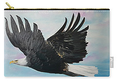 Eagle On A Mission      11 Carry-all Pouch