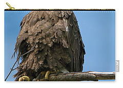 Eagle On Perch Carry-all Pouch