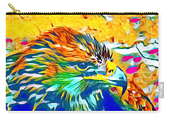 Eagle Pop Art 1 Carry-all Pouch