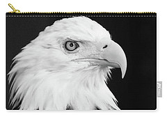 Carry-all Pouch featuring the photograph Eagle Portrait Special  by Coby Cooper