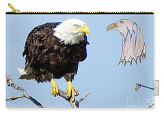 Eagle Reflection Carry-all Pouch