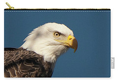 Carry-all Pouch featuring the photograph Eagle by Rod Wiens