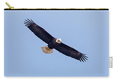 Carry-all Pouch featuring the photograph Eagle Watch 2018 by Ricky L Jones