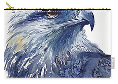 Eagle Watercolor Carry-all Pouch