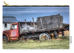 Carry-all Pouch featuring the photograph Earl Latsha Lumber Company - Version 1 by Shelley Neff