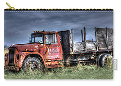 Carry-all Pouch featuring the photograph Earl Latsha Lumber Company Version 2  by Shelley Neff