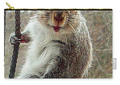 Earl The Squirrel Carry-all Pouch by Robert Orinski