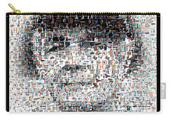 Earl Weaver Mosaic Carry-all Pouch by Paul Van Scott