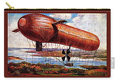 Early 1900s Military Airship Carry-all Pouch