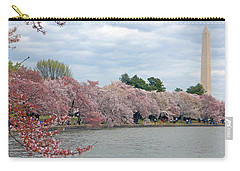 Early Arrival Of The Japanese Cherry Blossoms 2016 Carry-all Pouch