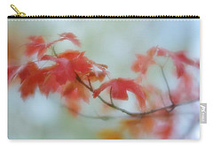 Carry-all Pouch featuring the photograph Early Autumn by Diane Alexander