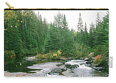 Early Autumn On The Madawaska River Carry-all Pouch