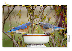 Early Bird Breakfast For Two Carry-all Pouch by Bill Pevlor