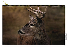 Early Buck Carry-all Pouch by Robert Frederick