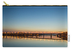 Early Evening Bridge At Sunset Carry-all Pouch
