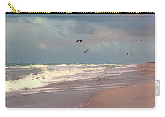 Carry-all Pouch featuring the photograph Early Evening by Megan Dirsa-DuBois