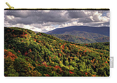 Carry-all Pouch featuring the photograph Early Fall In The Tennessee Mountains by Greg Mimbs