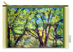 Early Fall Trees Carry-all Pouch
