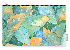 Early Frost Watercolor Carry-all Pouch