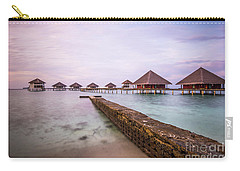 Carry-all Pouch featuring the photograph Early In The Morning by Hannes Cmarits