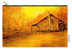 Carry-all Pouch featuring the painting Early Kentucky Times by Gail Kirtz
