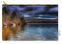 Carry-all Pouch featuring the photograph Early May On Limekiln Lake by David Patterson