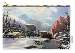 Early Morning In The Rocky Mountains Carry-all Pouch