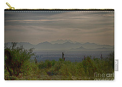 Carry-all Pouch featuring the photograph Early Morning by Anne Rodkin