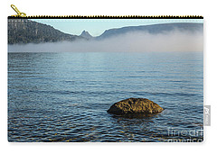 Carry-all Pouch featuring the photograph Early Morning At Lake St Clair by Werner Padarin