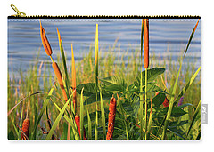 Early Morning Cattails Carry-all Pouch