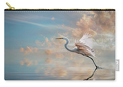 Early Morning Egret Carry-all Pouch by Brian Tarr
