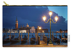 Carry-all Pouch featuring the photograph Early Morning In Venice by Brian Jannsen