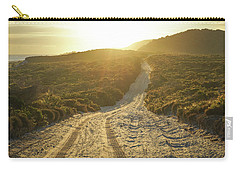Early Morning Light On 4wd Sand Track Carry-all Pouch