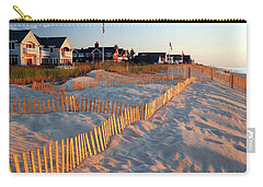 Early Morning On The Shore Carry-all Pouch by James Kirkikis