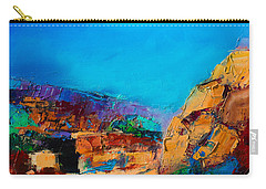 Early Morning Over The Canyon Carry-all Pouch