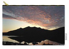 Early Morning Red Sky Carry-all Pouch by Barbara Griffin