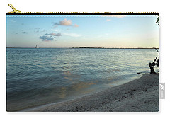 Carry-all Pouch featuring the photograph Early Morning Reflections by John M Bailey