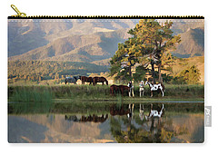 Early Morning Rendezvous Carry-all Pouch by Nadja Rider