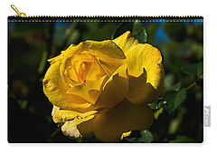 Early Morning Rose Carry-all Pouch by Kenneth Albin