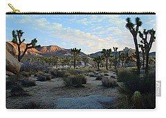 Early Morning Sun - Joshua Tree National Park Carry-all Pouch by Glenn McCarthy Art and Photography