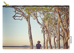 Carry-all Pouch featuring the photograph Early Morning Tranquility Down By The Lake by Keiran Lusk