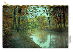 Carry-all Pouch featuring the photograph Early Morning Walk by John Rivera